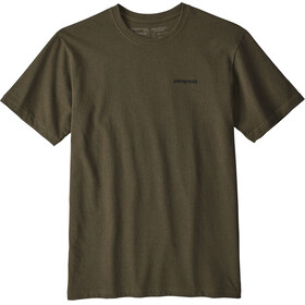 Patagonia P-6 Logo Responsibili Short Sleeve Shirt Men sediment